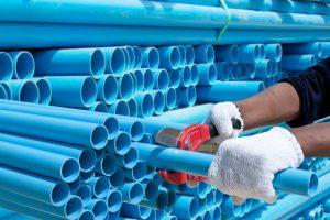 PVC-pipes